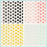 Riley Blake Ombre Dots