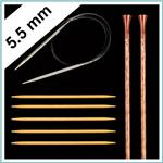 Knitting Needles Size US 9 - 5.5mm