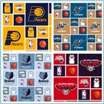 NBA Cotton Broadcloth Fabric