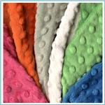 Minky Dimple Dot Fabric