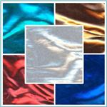 Nylon/Spandex Metallic Knit Fabric