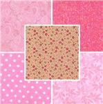Quilting Fabric Blenders Pinks