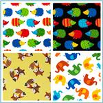 Timeless Treasures Flannel Animals