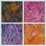 Artisan Batiks: Fancy Feathers
