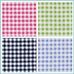 Flannel Gingham Fabric