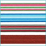 1/2'' Grosgrain Stripes Ribbon