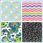 Printed Minky Plush Fabric