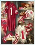 Collegiate Fleece Locker Room Panels