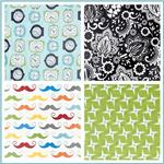 Riley Blake Designer Laminated Cotton Fabric