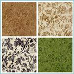 110'' Wide Essential Floral Quilt Backings