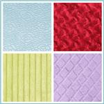 Minky Embossed Fabric