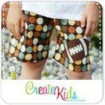 Aidan's Appliqued Shorts Pattern