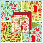 Flannel Holiday Fabric
