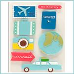 Travel & Vacation Stickers
