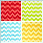 Riley Blake Dreamy Minky Chevron
