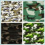 Textile Creations Camouflage Twill Fabric