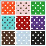 1.5'' Grosgrain Polka Dot Ribbon