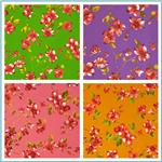 Garden Floral Broadcloth Fabric