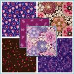 Timeless Treasures Flower Power 21 Wale Corduroy Fabric