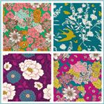 Joel Dewberry Bungalow Rayon Challis Fabric