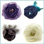 Laliberi Pin &amp; Clip Flowers
