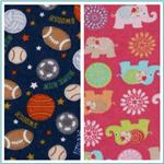 Flannel Novelty Fabric