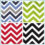 Minky Cuddle Chevrons & Zigzags Fabric