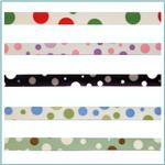 3/8'' Grosgrain Bubble Dot Ribbon