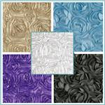 Satin Ribbon Rosette Fabric