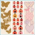 Martha Stewart Crafts Insects & Bugs Stickers