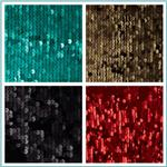 Envy Matte Sequin Netting Fabric