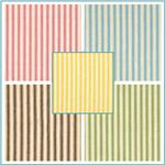 "44"" Ticking Stripe Fabric"