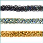 1/2'' Sequin Braid Cord Trim