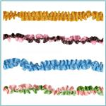 "3/8"" Stretch Satin Ruffle Trim"