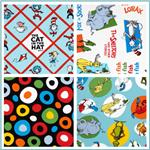 Dr. Seuss Slicker Laminated Cotton Fabric