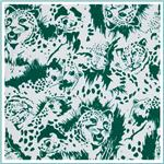 Printed Cotton Jersey Knit Fabric