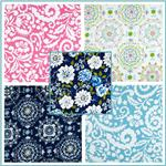 Tea Garden Home Décor Sateen Fabric