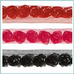 "Riley Blake Sew Together 1"" Rosebud Trim"