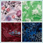 Printed Charmeuse Satin Fabric
