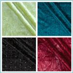 Stretch Crushed Panne Velvet Fabric