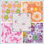 Flannel Floral Fabric