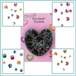 Sweetheart Swarovski Crystal Compact