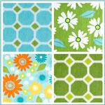 Kaufman Izzy Header Minky Cuddle Fabric
