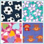 Printed Fleece Fabric