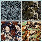 Printed Rayon Challis Fabric