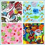 Fabri-Quilt Cuddle Flannel Novelty Fabric