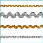 Metallic Ric Rac Trim