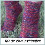 Autumn Stars Socks Pattern