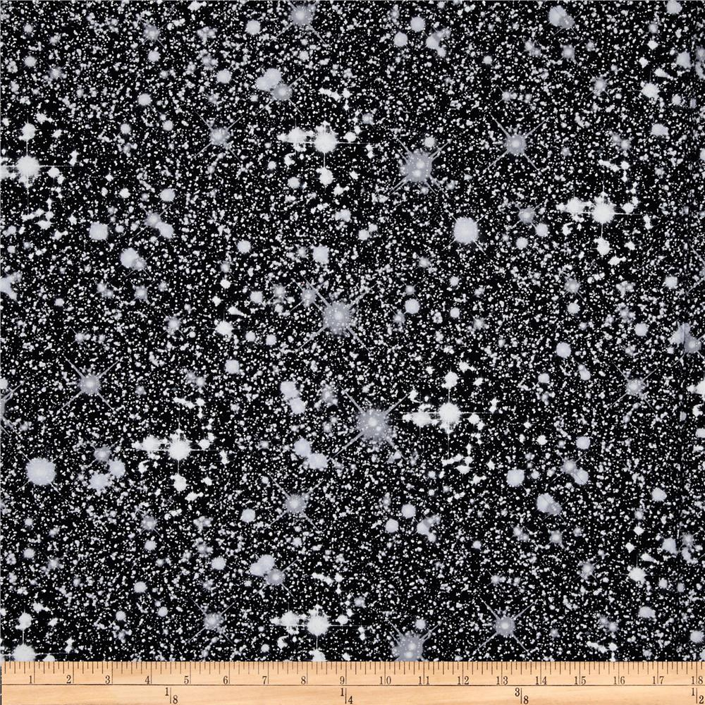 Kanvas Cosmos Night Sky Metallic Black/Silver