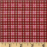 Dear Jane II Plaid Red